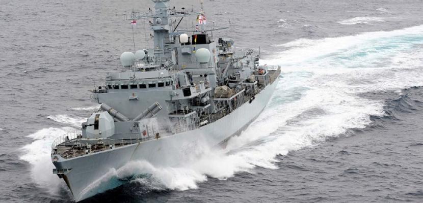 سفينة حربية بريطانية تبحر للمشاركة في مهمة تأمين وحماية الناقلات بالخليج