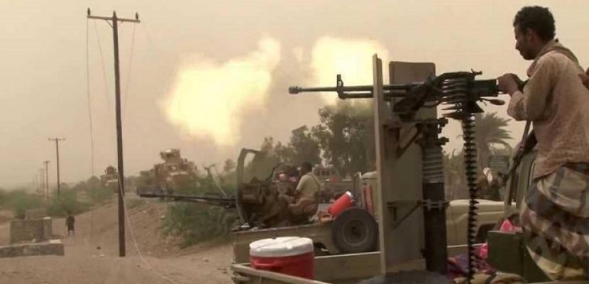 مقتل 36 حوثياً بينهم قيادات في معارك مع الجيش اليمني