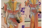 """باريس هيلتون تشيد بإطلالة نيكول سابا فى افتتاح """"الجونة السينمائى"""""""