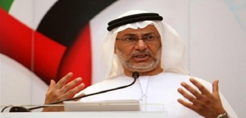 وزيرالدولة للشؤون الخارجية الإماراتي: الشعب المصري يتصدى لمنصات الإعلام الموجهة ضد مؤسسات الدولة