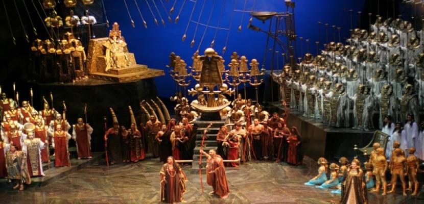 إنتاج جديد لأوبرا عايدة في 4 ليالٍ على المسرح الكبير بدار الأوبرا
