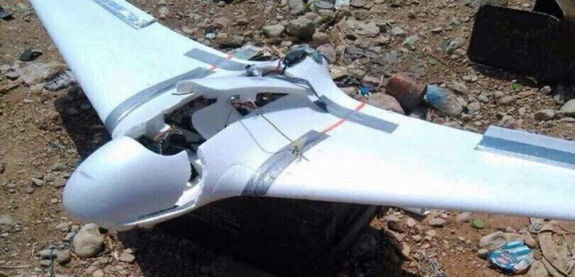 التحالف العربى يعلن إسقاط طائرة درون اطلقها الحوثيون باتجاه عمران بالسعودية