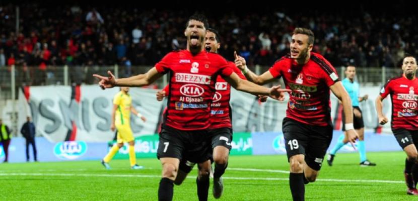 اتحاد الجزائر يسحق جورماهيا برباعية في دوري الأبطال