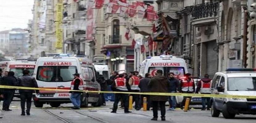 5 جرحى فى انفجار قنبلة استهدفت حافلة شرطة بأضنة جنوب تركيا
