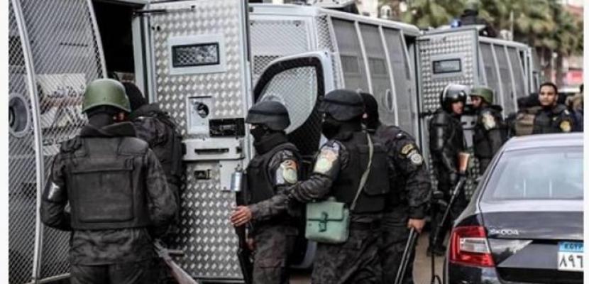 الداخلية : مقتل 6 إرهابيين في تبادل إطلاق نار مع الأمن بنطاق الواحات البحرية