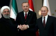 قمة ثلاثية روسية – إيرانية – تركية في أنقرة لضمان سريان الهدنة في إدلب السورية