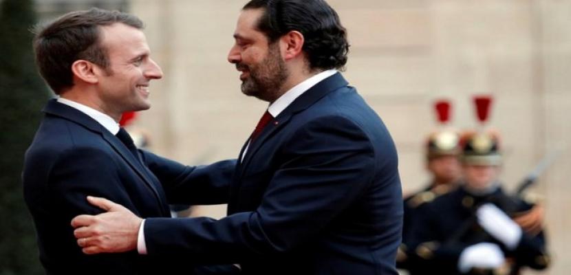 الحريري: فرنسا تقول إنها راضية عن تقدم خطة الاستثمار
