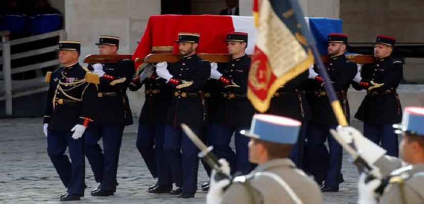 تشييع جنازة الرئيس الفرنسي الأسبق جاك شيراك بمشاركة عدد من رؤساء الدول والحكومات