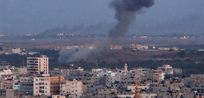 الطيران الحربى الإسرائيلى يقصف أهدافاً فى شرق رفح جنوب قطاع غزة