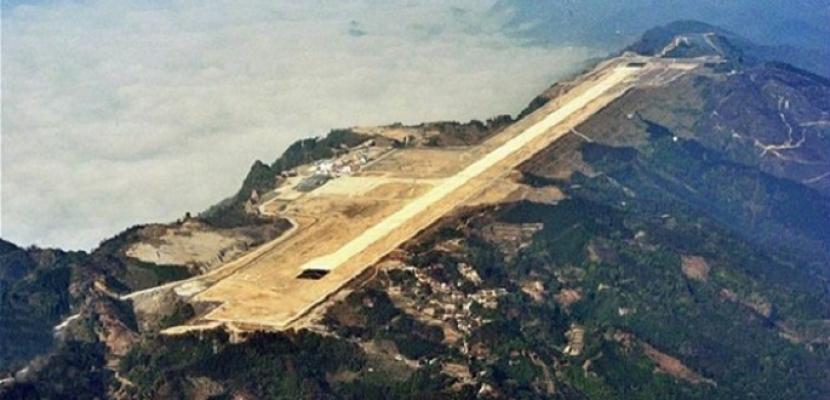 الصين تفتتح مطار على ارتفاع 4 آلاف متر فوق مستوى سطح البحر