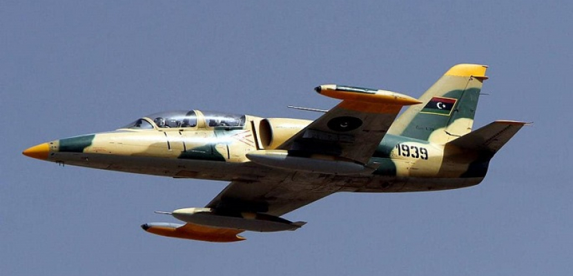 الجيش الليبى يعلن تدمير مواقع تجهيز طائرات تركية مسيرة بمطارى معيتيقة ومصراتة
