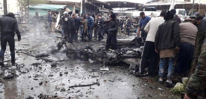مقتل وإصابة 17 شخصا في تفجير سيارة مفخخة بعفرين السورية