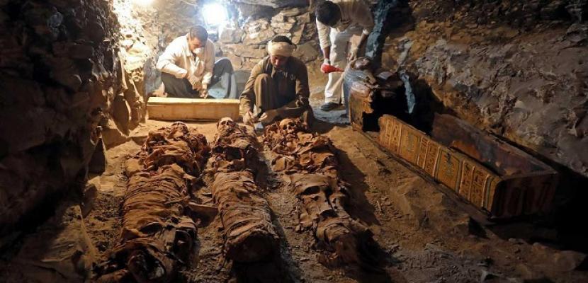 وزارة الآثار تفتح مقبرتين في الأقصر