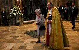 ملكة بريطانيا تحضر قداسا بمناسبة الذكرى 750 لتأسيس كنيسة وستمنستر