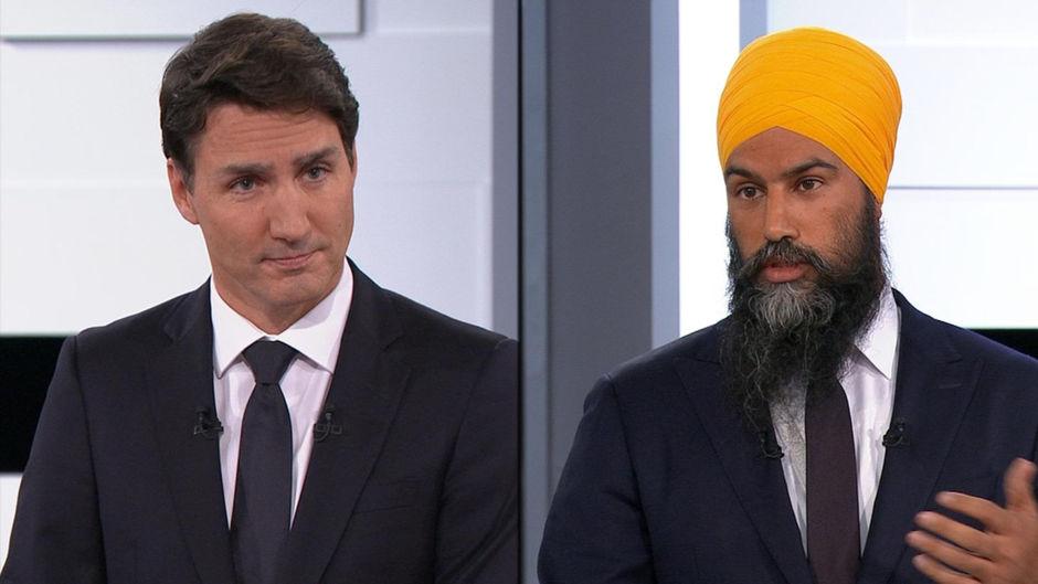 Trudeau et Singh inquiets de la polarisation du débat politique