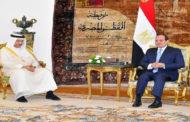 الرئيس السيسي يؤكد حرص مصر على تطوير التعاون مع الكويت في المجالات كافة