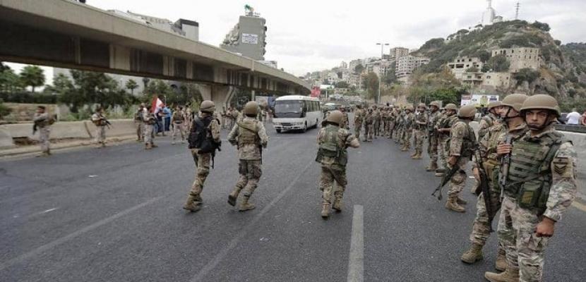 """مظاهرات لبنان تدخل يومها العاشر .. والجيش اللبنانى يفتح بعض الطرق فى """"سبت الساحات"""""""