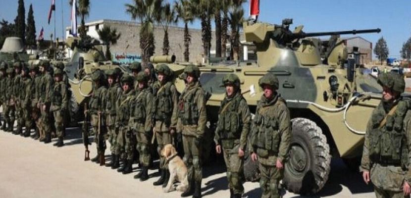 مناورات عسكرية روسية إيرانية سورية غربي دير الزور