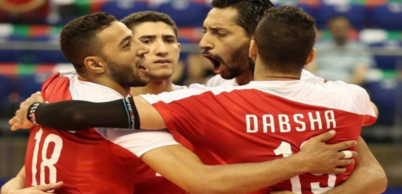 منتخب مصر للكرة الطائرة يحقق انتصاره الثانى ببطولة العالم بالفوز على إيران ٣-١