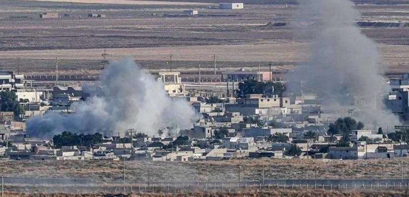 قصف تركى عنيف على مدينة رأس العين ومعارك محتدمة بين القوات التركية و الاكراد