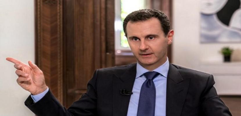 """الأسد يزور جبهة إدلب قرب مسلحي المعارضة ويصف أردوغان بأنه """"لص"""""""
