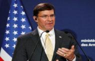 إسبر: الهدف هو عودة القوات الأمريكية المنسحبة من سوريا للديار في نهاية الأمر