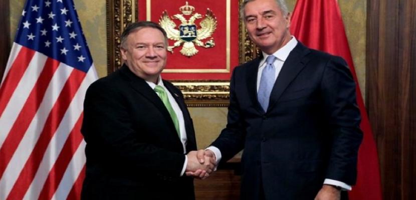 بومبيو يزور الجبل الأسود ولا تعليق على تحقيق أوكرانيا