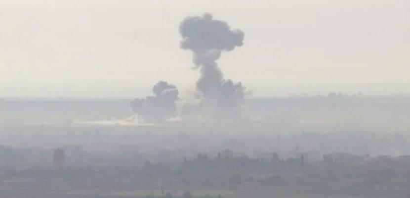 قتال على الحدود مع استمرار الحملة التركية في شمال سوريا