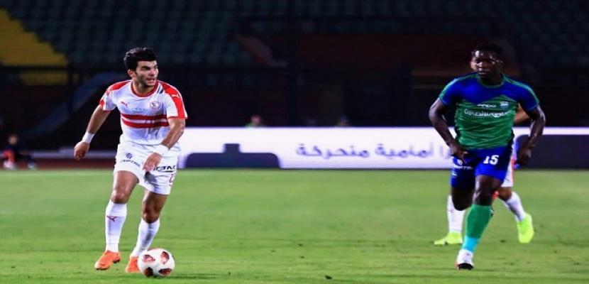 الزمالك يفوز على مصر المقاصة بهدف نظيف في الدورى الممتاز