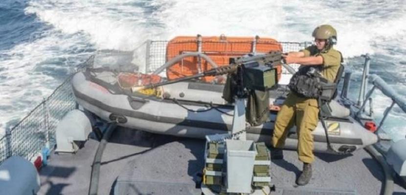 زوارق الاحتلال الإسرائيلي تطلق النار تجاه الصيادين الفلسطينيين ببحر غزة