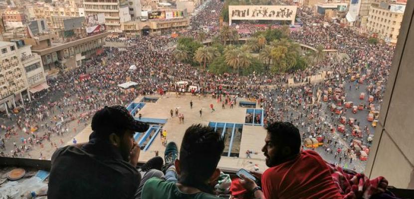تصاعد الاحتجاجات في العراق وتزايد أعداد القتلى والمصابين في بغداد