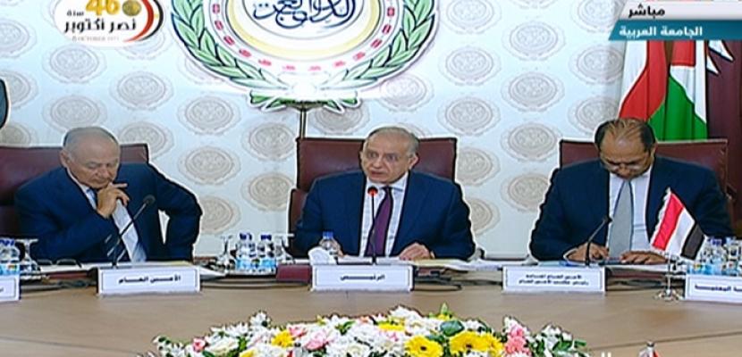 انطلاق أعمال الاجتماع الطارىء لوزراء الخارجية العرب لبحث العدوان التركي على سوريا