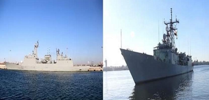 القوات البحرية المصرية والكورية الجنوبية تنفذان تدريبًا عابرًا بالبحر المتوسط