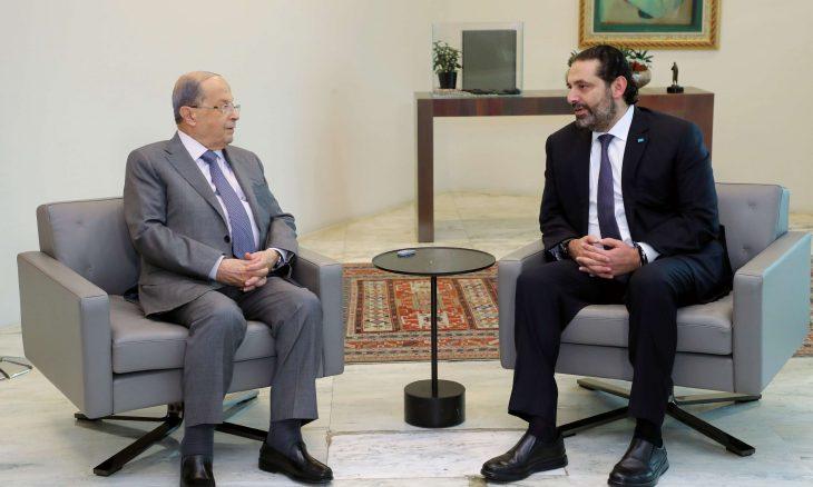 الرئاسة اللبنانية: عون لم يطالب بالثلث الضامن في تشكيل حكومة المكلف بها الحريري