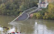 مقتل شخص في حادث انهيار جسر معدني معلق جنوب فرنسا