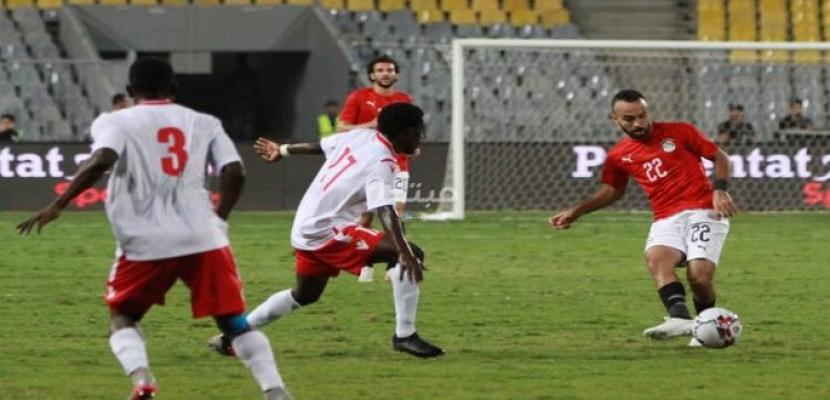 منتخب مصر الأول لكرة القدم يتعادل مع كينيا 1-1 في تصفيات كأس الأمم الإفريقية 2021
