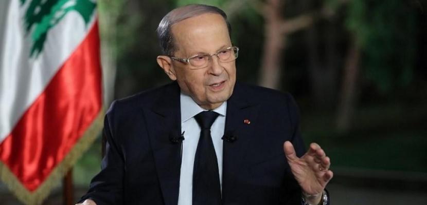 الرئيس اللبناني: من المستحيل أن يكون انفجار المرفأ سببه أسلحة لحزب الله