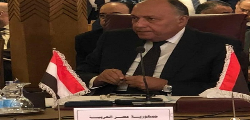 سامح شكري: مصر تعتزم إعادة سوريا إلى موقعها الطبيعي على الساحتين الإقليمية والدولية
