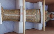 وصول توابيت خبيئة العساسيف الى المتحف المصري الكبير