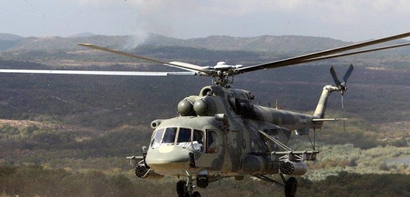 روسيا تنشر طائرات هليكوبتر للقيام بدوريات على حدود سوريا وتركيا