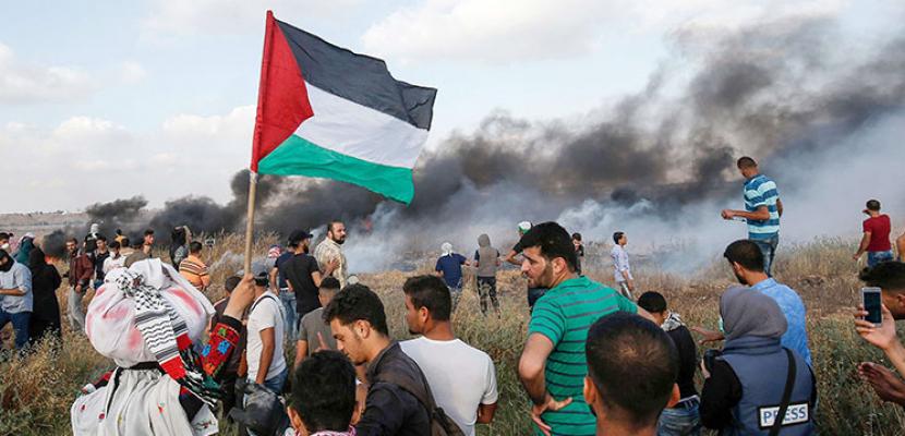 إصابة 10 فلسطينيين برصاص الاحتلال الإسرائيلي على الحدود الشرقية لقطاع غزة