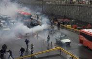 مظاهرات ايران تدخل يومها الثانى .. وارتفاع الضحايا الى 5 قتلى و 13 جريحاً