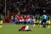 مصر تتأهل للأولمبياد وتبلغ نهائي إفريقيا بفوزها على جنوب إفريقيا بثلاثية نظيفة