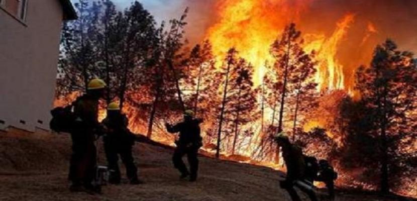 كاليفورنيا: إجلاء نحو 240 ألف شخص لحمايتهم من خطر الحرائق والولاية تتلقى مساعدات لمكافحتها