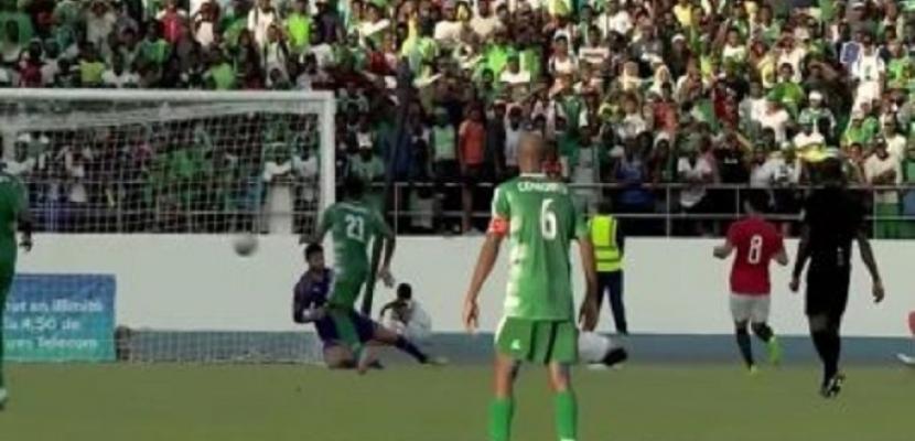 المنتخب الوطني يكتفي بالتعادل سلبي أمام جزر القمر بالتصفيات الأفريقية