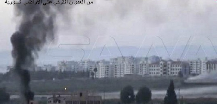 وكالة الأنباء السورية: الجيش التركي يواصل عدوانه على ريف الحسكة