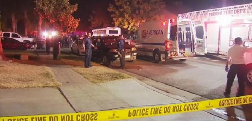 4 قتلى و6 جرحى جراء إطلاق نار خلال حفل خاص في كاليفورنيا