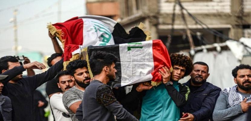 السيستاني يندد بقتل وخطف المحتجين العراقيين