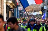 """فرنسا تحظر تظاهرات """"السترات الصفراء"""" وسط باريس ليلة رأس السنة"""