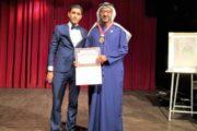 (مراكش لتبادل الثقافات) يختار خالد الظنحاني شخصية العام الإنسانية